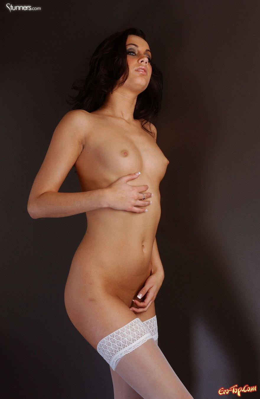 Платье в горошек секс фото