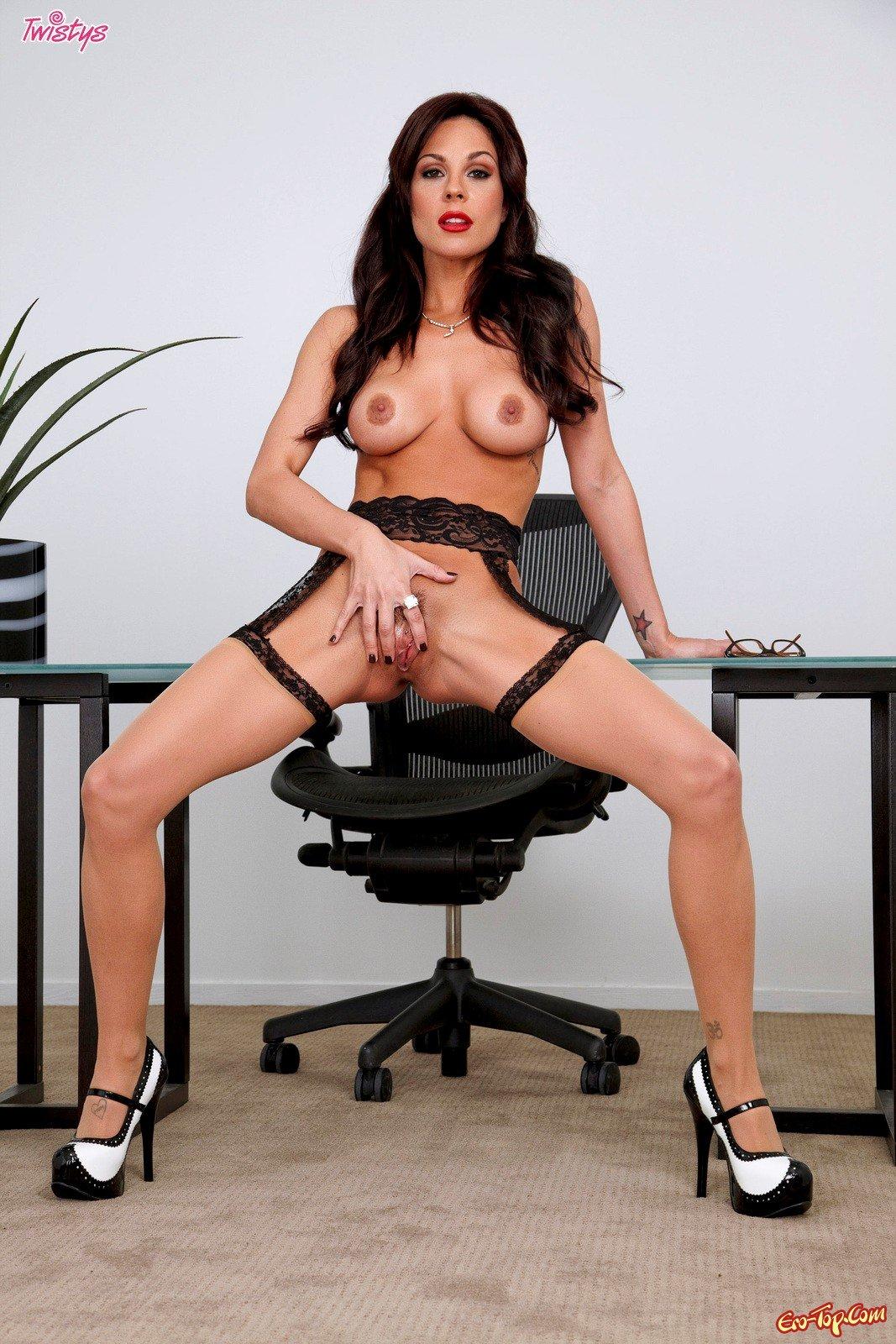 Похотливая секретарша