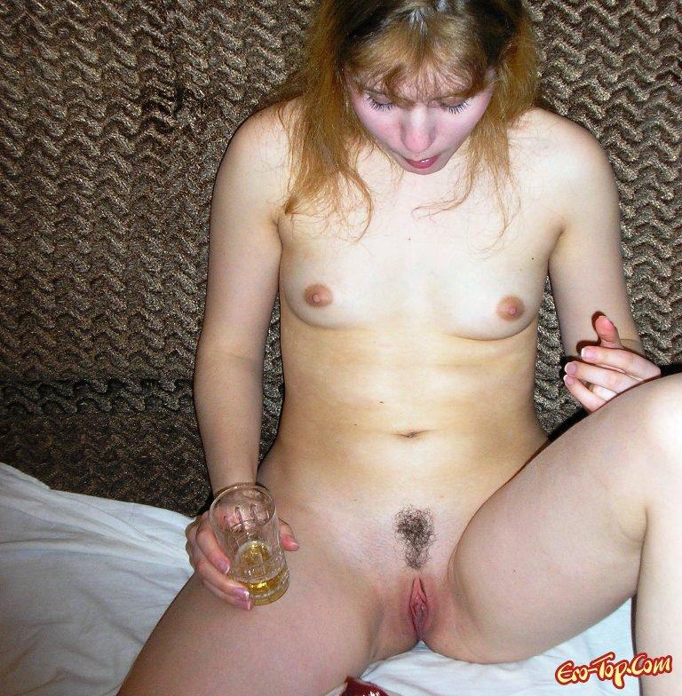 пьяная баба голая фото