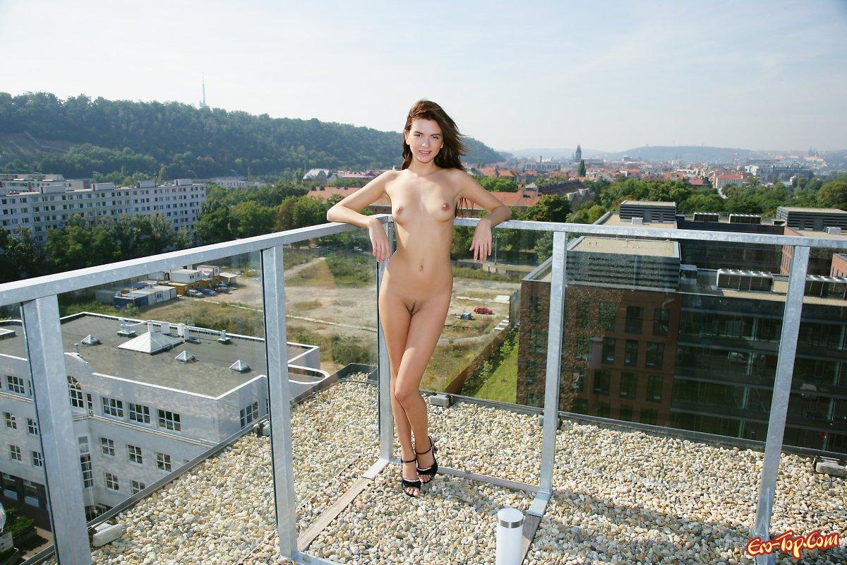Развод секс на крыше 4 фотография