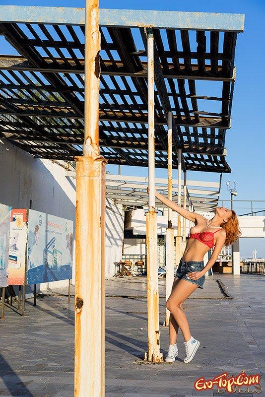 Проститутка в порту