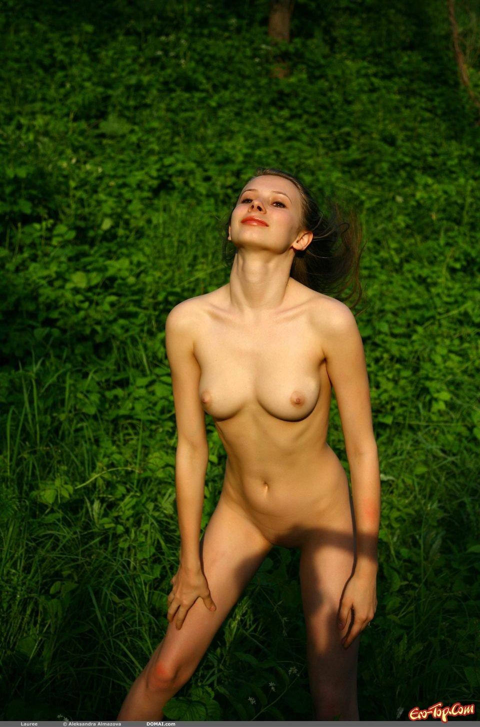 Красивая русская девушка