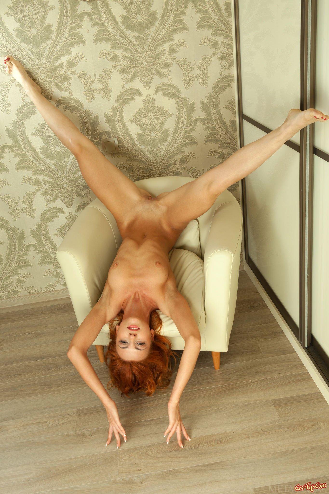 Рыженькая красотка секс фото