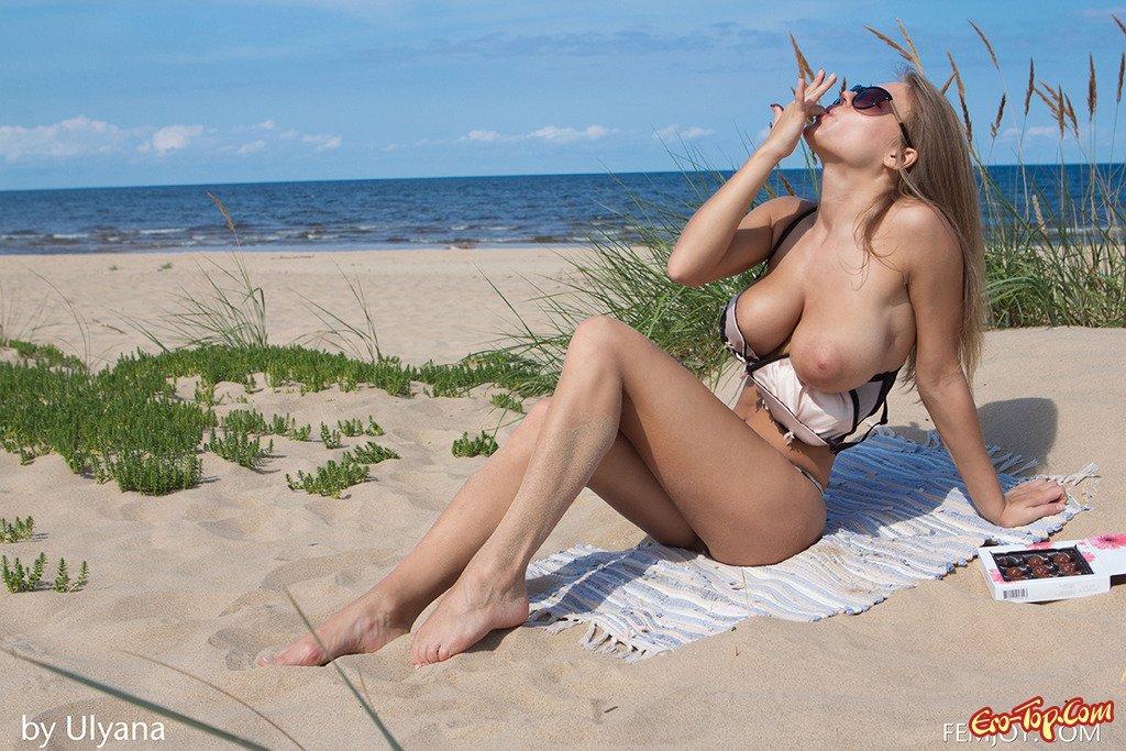 Сисястая на песке