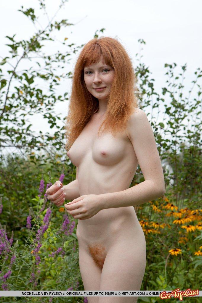 фото рыжих голых баб